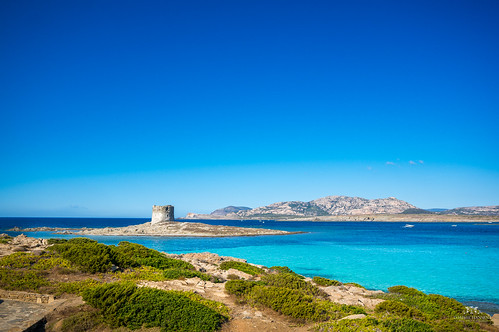 View of La Pelosa, Stintino (Sardinia, Italy) | by Tommie Hansen