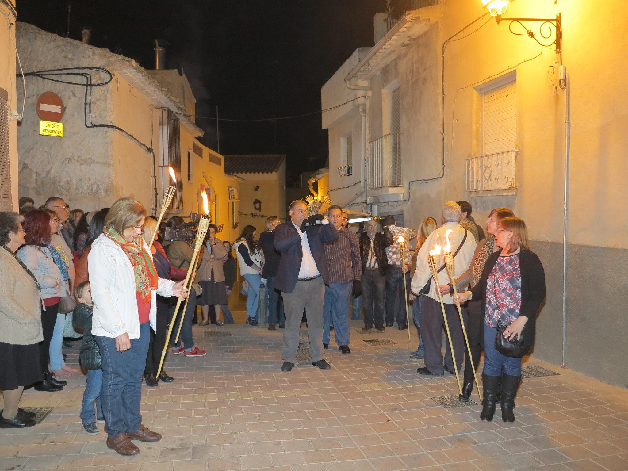 (2014-04-01) - V Vía Crucis nocturno - Antonio José Verdú Navarro (18)