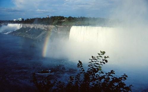 Niagara Falls - Rainbow and Horseshoe Falls