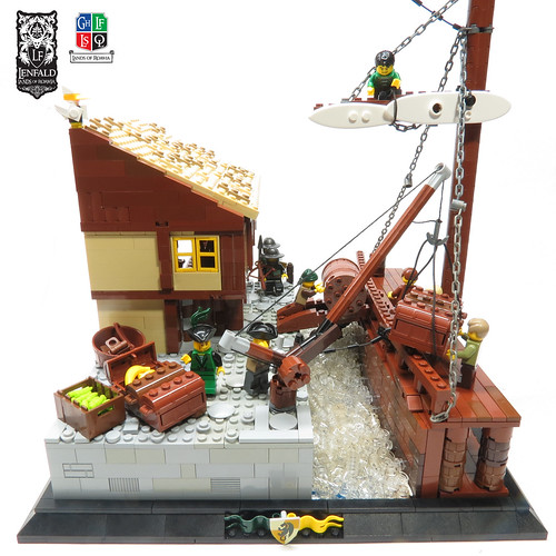 LoR - GC XII - Port Emerald Wharf and Chandlery | by Kingdomviewbricks