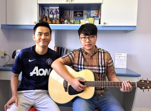 Beginner guitar lessons Singapore Ellven