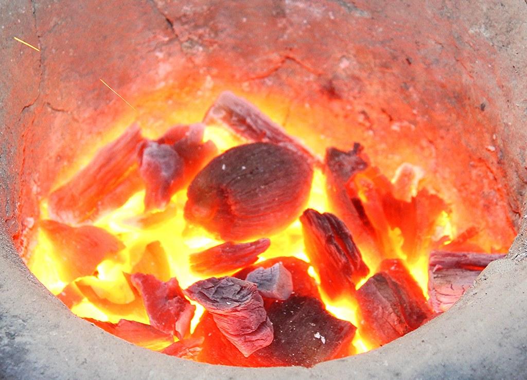 carvão de babaçu