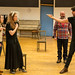 Kirsty MacLaren, Meghan Tyler, Mark McDonnell and Phil Cairns in rehearsals for The Crucible, Lyceum Theatre
