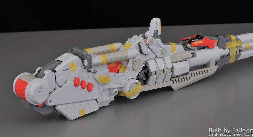 Mechanicore - Tief Stürmer Review - Main Gun and Radar 6