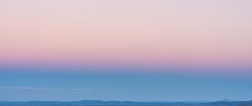 pink blue sunset shadow red sky belt twilight arch venus earth anti