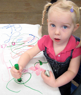 Tue, 03/27/2012 - 00:14 - Future artist at work.
