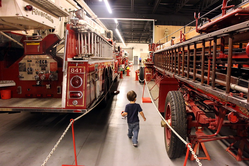Hall of Flame Firefighting Museum Visit