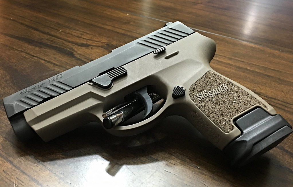 Modularity at it's finest | Sig Sauer p320 compact slide, su