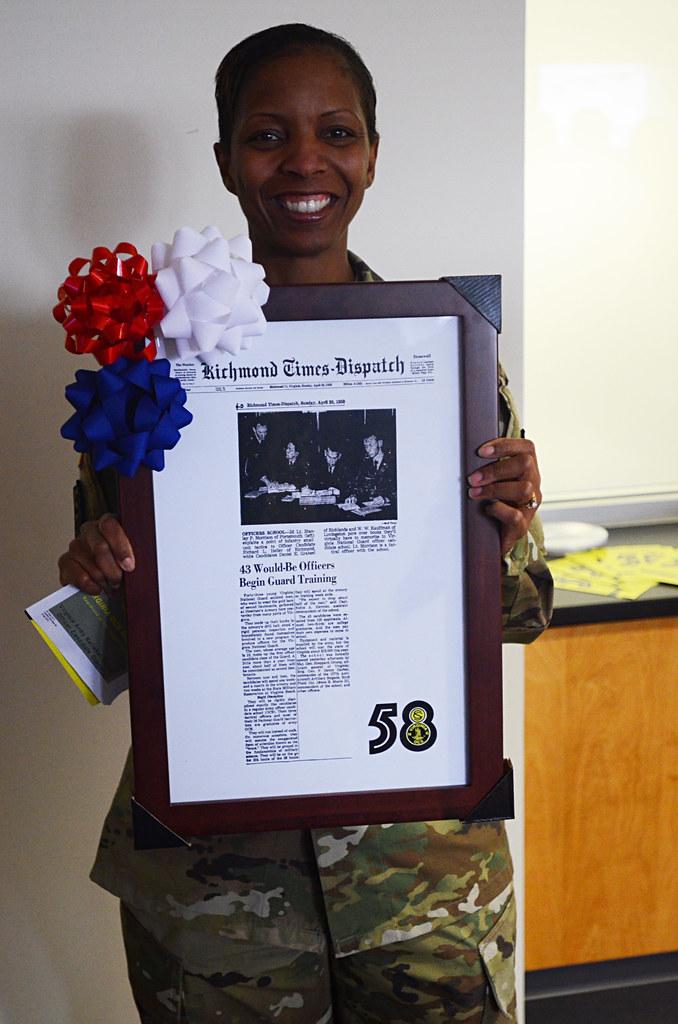 Virginia Guard Officer Candidate School celebrates 58th bi