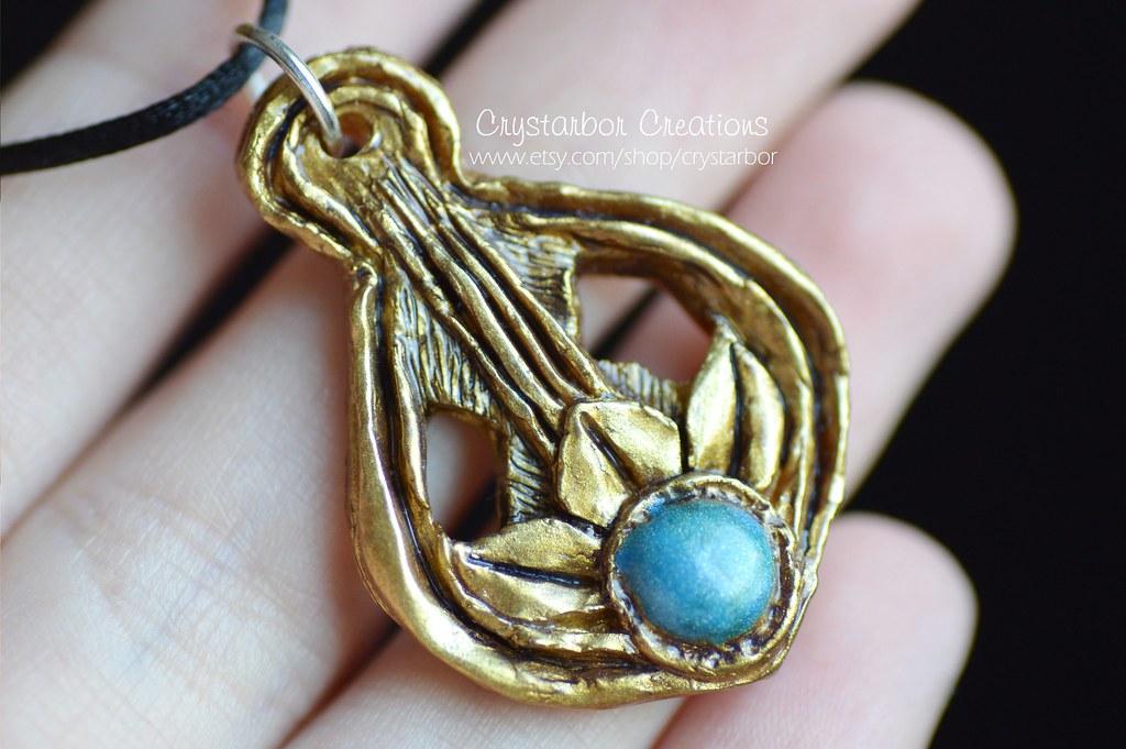 Amulet of Dibella necklace Elder Scrolls Skyrim   Polymer …   Flickr