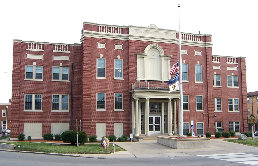 Elizabethtown KY Hardin County Courthouse | On the National