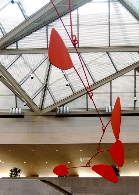 Calder in red