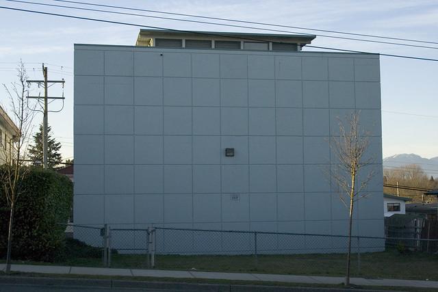 BC Hydro Substation on 5400 Block of Joyce Ave.