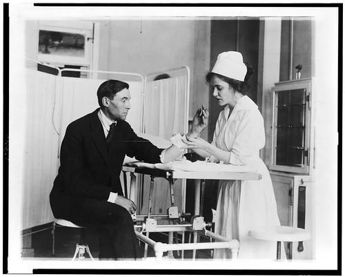 No Known Restrictions: Public Health Service Nurse and Patient (LOC) | by pingnews.com