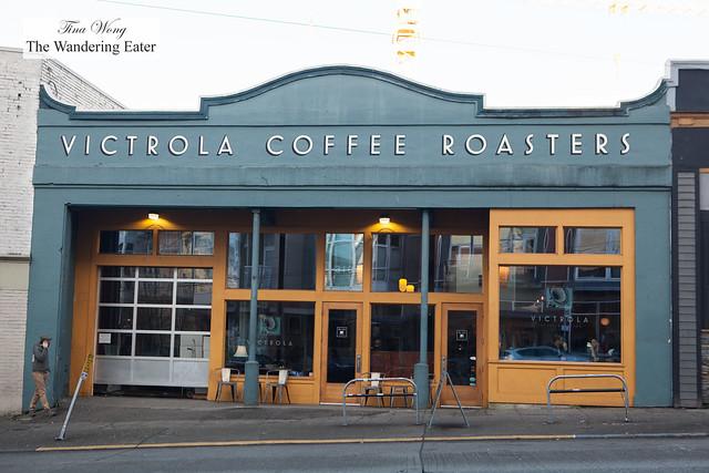 Exterior of Victrola Coffee Roasters