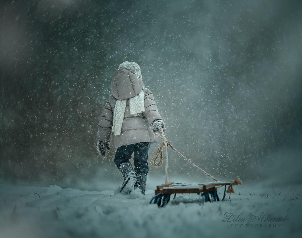 Into The Blizzard...