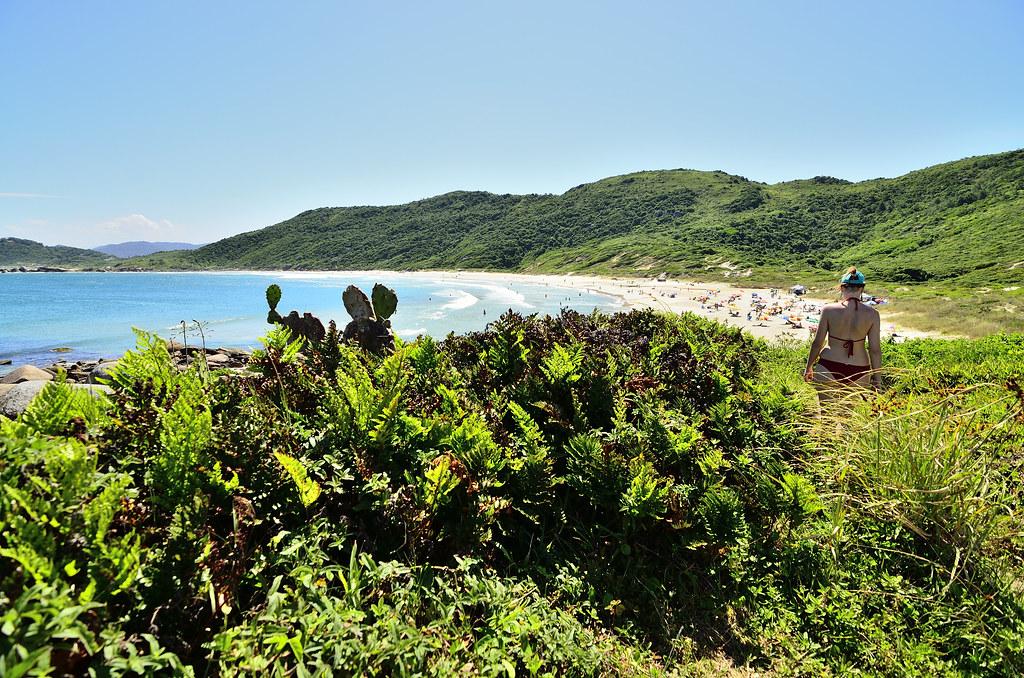 praia da galheta, naturismo e surf em florianópolis