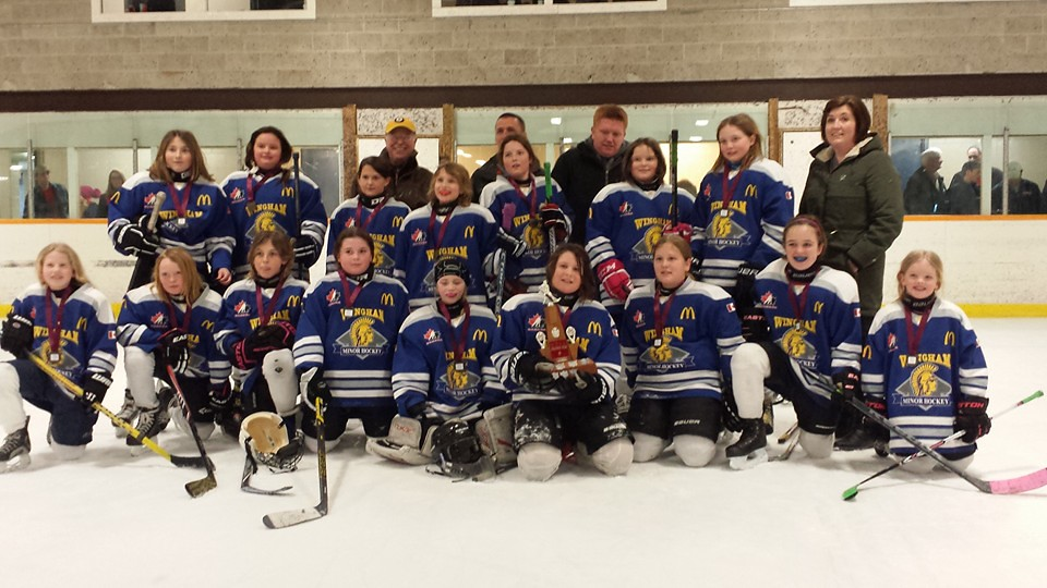 Lucknow/Wingham Atom Girls