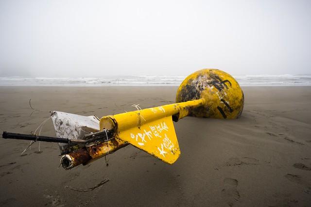 Second Beach Trash