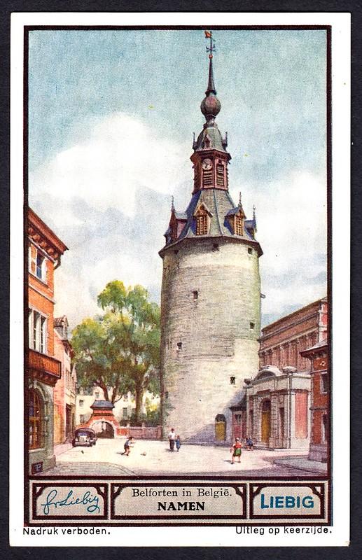 Liebig Tradecard S1330 - Namen (Namur)