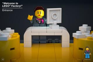 LEGO Factory playset - Entrance | by BrickJonas