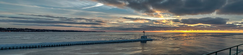 winter sunset sky panorama lighthouse cold reflection ice clouds reflections geotagged evening frozen nikon unitedstates michigan pano stjoseph lakemichigan hdr saintjoseph oudoors stjosephlighthouse nikond5300
