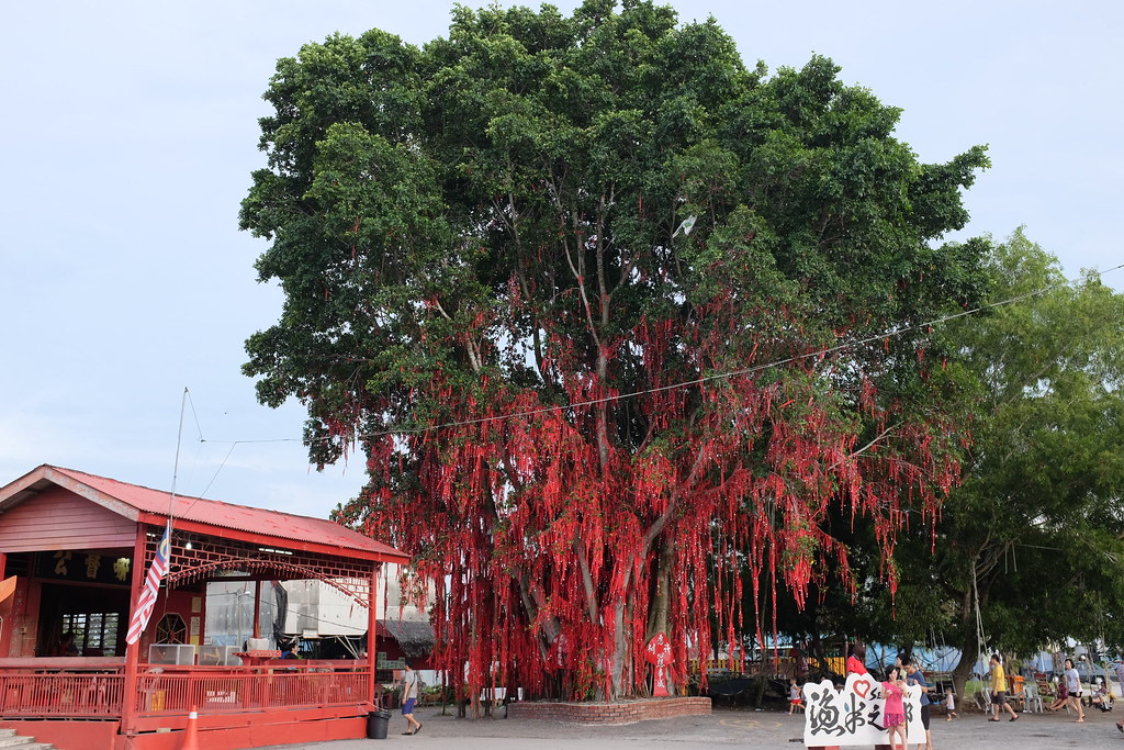 Wishing tree, Redang Beach, Sekinchan