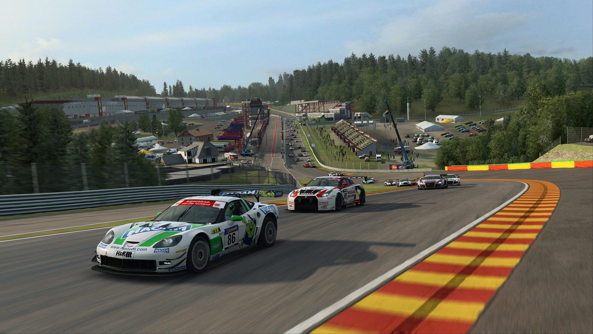 RaceRoom GT3 Update