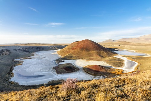 old blue red summer sky panorama terrain cloud sun mountain lake reflection nature water beautiful rural turkey landscape outside spring scenery colorful paradise loneliness view outdoor horizon hill salt meadow clear mount crater environment anatolia konya meke