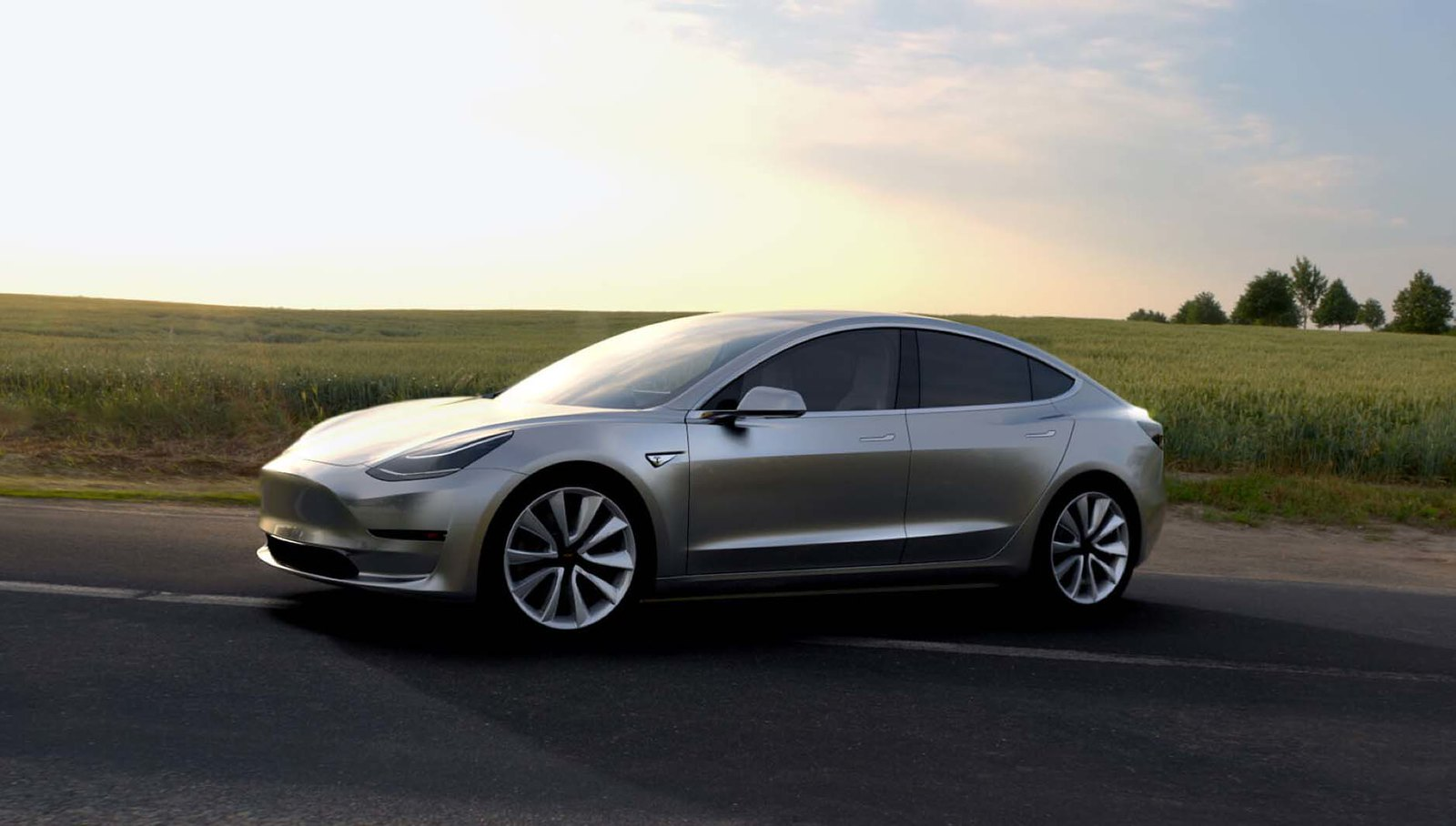 "215-Mile Range ""Tesla Model 3"" Electrifies the World"