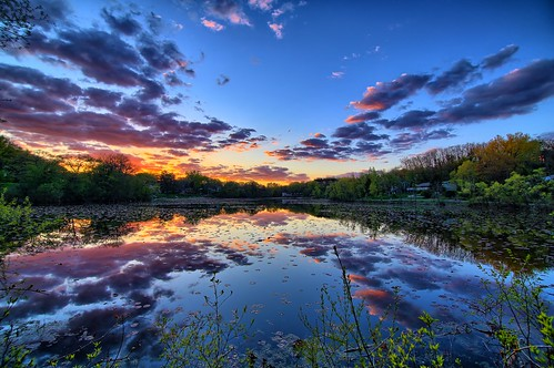 trees sunset lake 3 color reflection nature water minnesota clouds canon landscape eos pretty mark iii wing vivid sunsets calm 5d mn hdr minnetonka sunsettime
