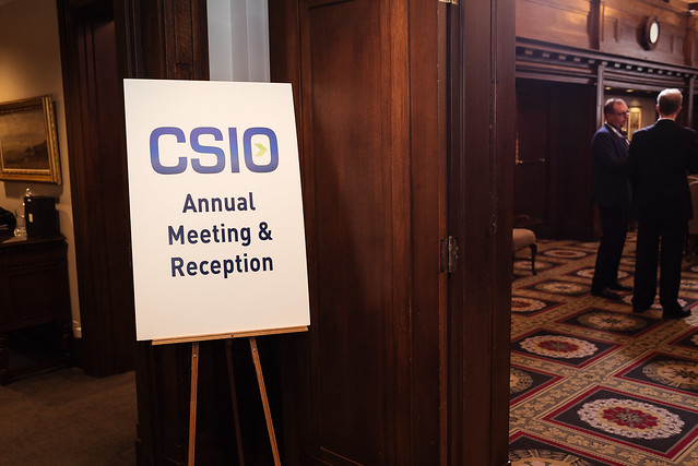 CSIO 2016 Members' Meting & Reception