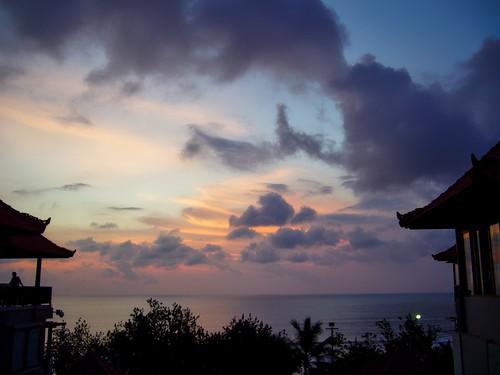sunset sky bali sun water clouds indonesia evening bay asia fx9 panasonic southeast dmc kuta dmcfx9