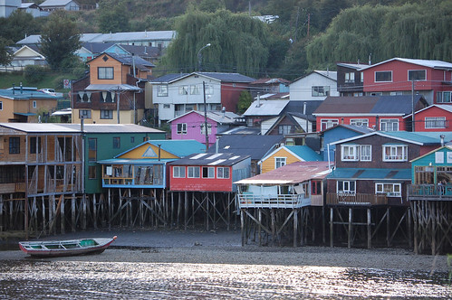 Palafitos (Houses on Stilts) in Castro, Chiloé, Chile | by blueskylimit