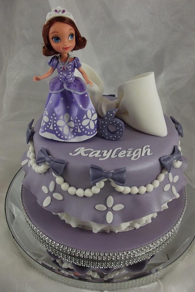Fine Princess Sofia Birthday Cake A Photo On Flickriver Funny Birthday Cards Online Elaedamsfinfo