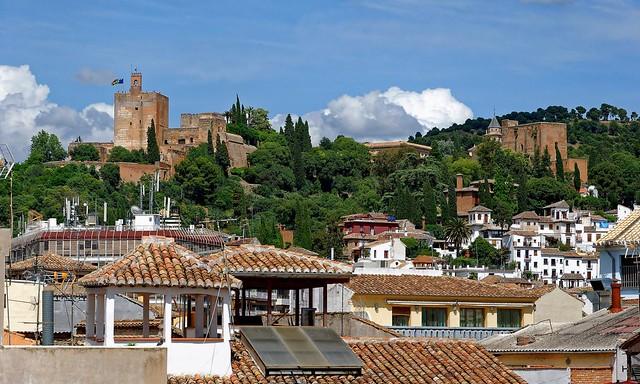 Granada : Above the roofs / Alcazaba