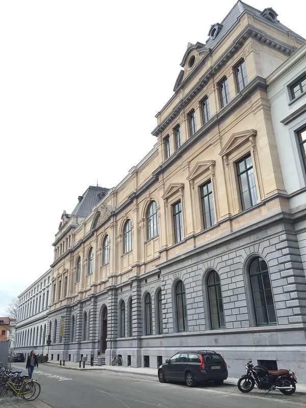 Gerestaureerde gevel Rozier gebouw (UGent)
