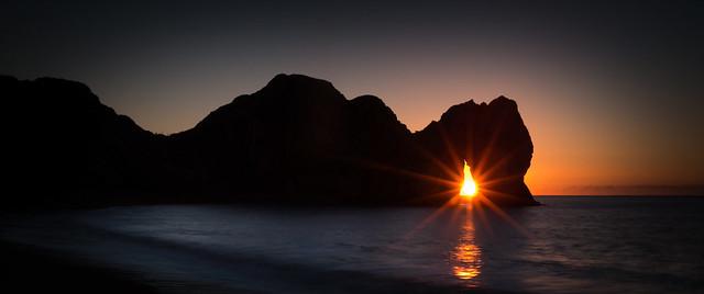 Sunrise Through the Arch
