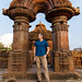 Portrait of a photographer at Mukteswar Mandir by andryn2006