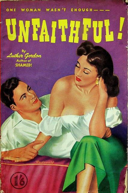 Unfaithful - World Distributors Ltd UK - 1950 - Luther Gordon (James N. Gifford)