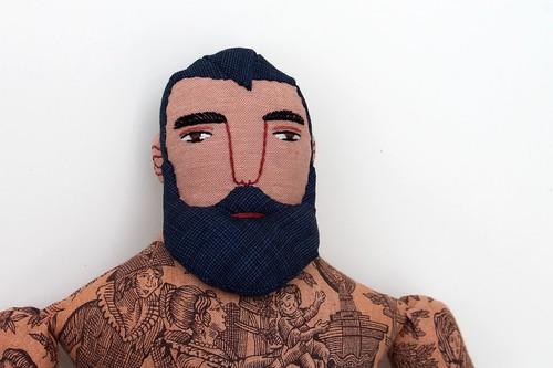 man face detail   by Mimi K