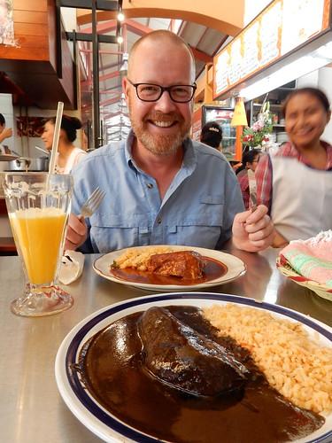 Oaxaca - Mercado 20 de Noviembre - mole