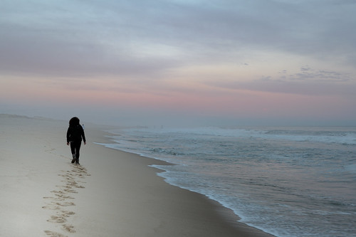 sunset red sea beach walking sand nikon walk atmosphere easthampton 50mm18d d700 104oceanave