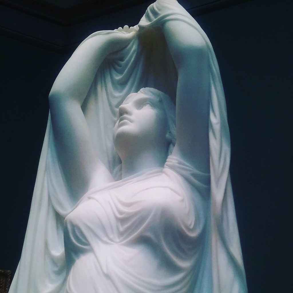 Undine Rising From The Waters 1880 Chauncey Bradley Ives