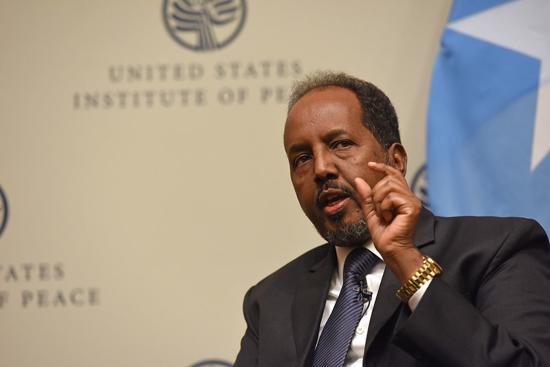 Somalia: A Talk with President Hassan Sheikh Mohamud | Flickr