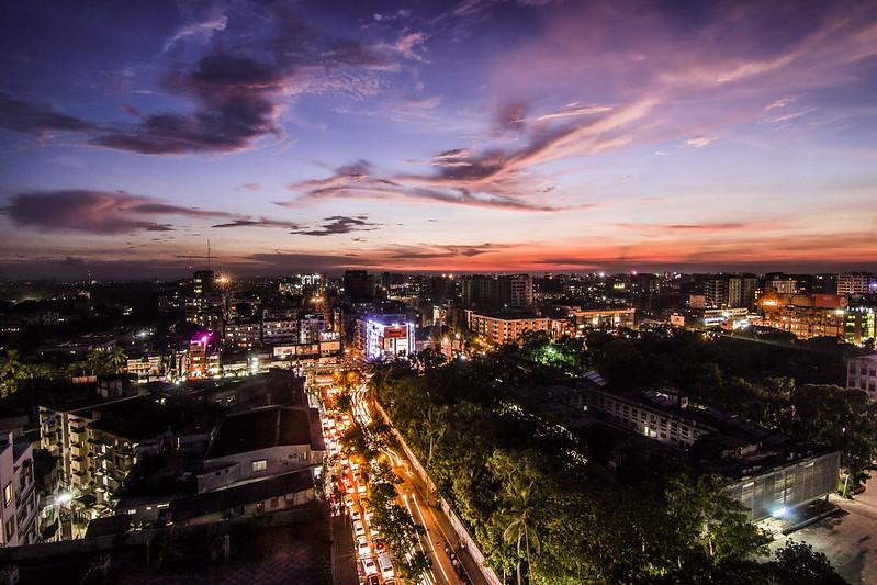 urban chaos and twilight!