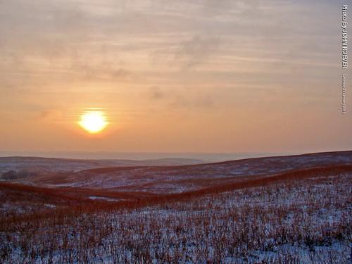 winter sunset landscape evening january kansas prairie sunsetting flinthills partlycloudy 2016 sunsetdrive wabaunseecounty sunsetroad sunsetdr sunsetrd january2016 sunsetintheflinthills