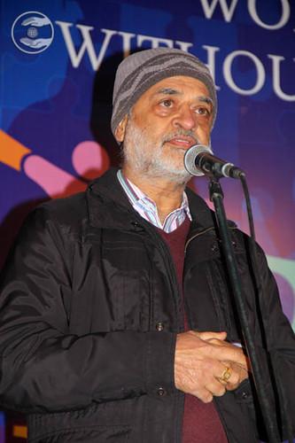 Purshotam Lal from Shahdara, Delhi expresses his views