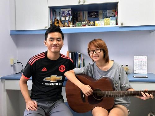 Adult guitar lessons Singapore Agatha