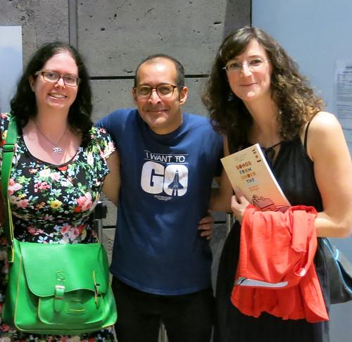 Alison, Anis, and Masha